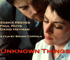 Unkown Things - CD cover